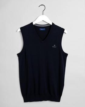 GANT Classic Baumwoll-Pullunder (8030540-433) evening blue