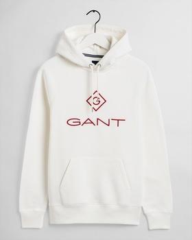 GANT Color Logo Hoodie (2047013-113) eggshell