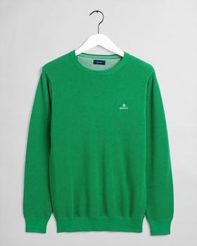 GANT Piqué Sweater (8030521-364) amazon green