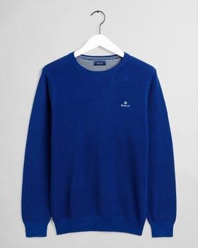 GANT Piqué Sweater (8030521-435) crisp blue
