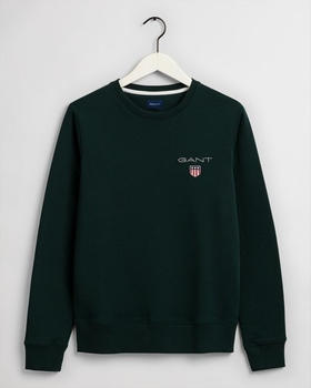 GANT Shield Sweatshirt (2056002-374) tartan green