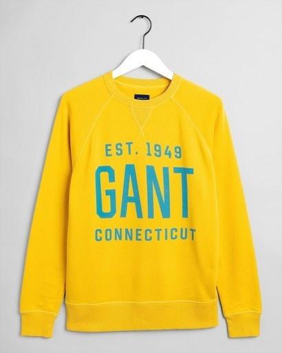 GANT Sweatshirt mit Print (2006025-706) mimosa yellow