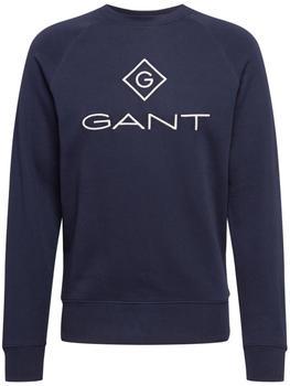 GANT Logo Sweatshirt ( 2046062-433) evening blue