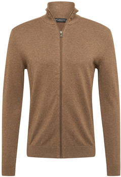 Selected Pima Cotton - Knitted Cardigan (16074688) teak