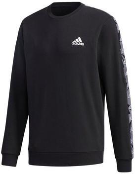 Adidas Essentials Tape Sweatshirt black/white