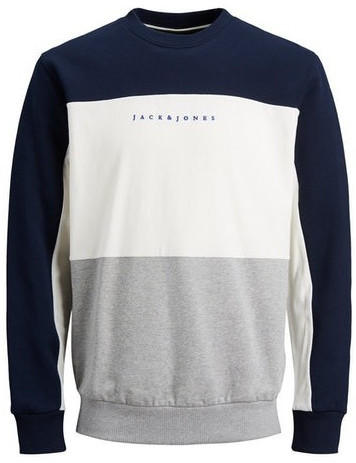Jack & Jones Herren-Sweatshirt (12176810) navy blazer
