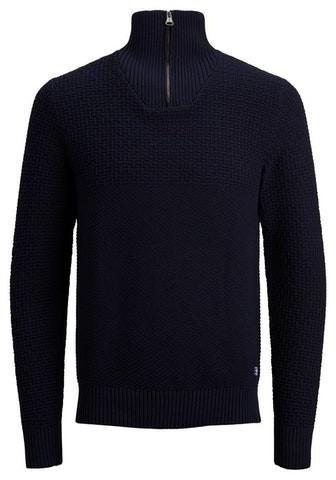 Jack & Jones Herren-Strickpullover (12175843) navy blazer