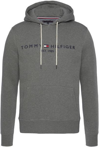 Tommy Hilfiger Organic Cotton Blend Logo Hoody dark grey heather (MW0MW11599)