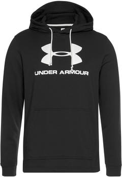 under-armour-sportstyle-logo-terry-hoodie-1348520-black