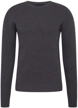 Selected Organic Cotton Jumper (16074692) anthracite