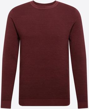Jack & Jones Liam Plain Knitted Pullover (12157344) port royale