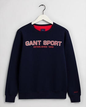 GANT GANT Sport Rundhals-Sweatshirt (2046069-409) classic blue