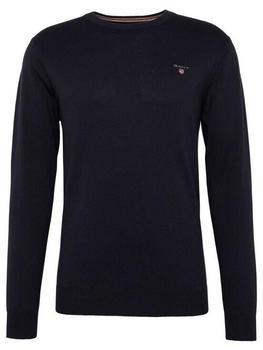 gant-c-neck-pullover-navy-83101-405