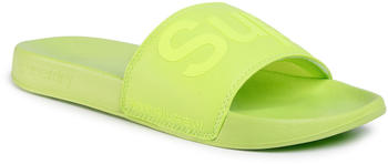 Superdry City Neon Pool Slide MF310020A green
