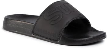 Superdry Magic Cambo Beach Slide MF310012A black
