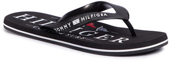 Tommy Hilfiger Nautical Print Beach Sandal FM0FM02699 black