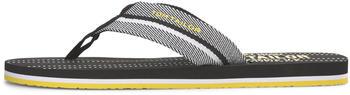 Tom Tailor Herren-sandaletten (80816020010) black-white