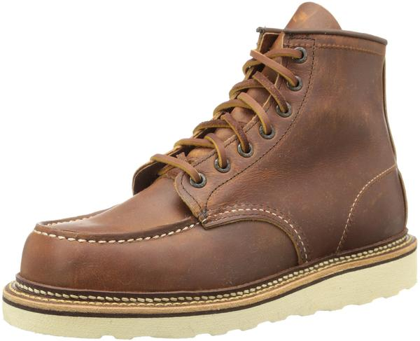 Red Wing Classic Moc copper rough tough leather