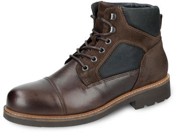 Tommy Hilfiger Active Material Mix Combat Boots (FM0FM01752) coffee bean