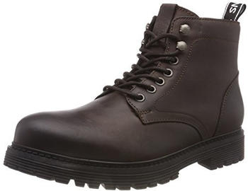 Tommy Hilfiger Lace Up Combat Boots (EM0EM00154) coffee