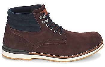 Tommy Hilfiger Outdoor Suede Combat Boots (FM0FM01748) coffee bean