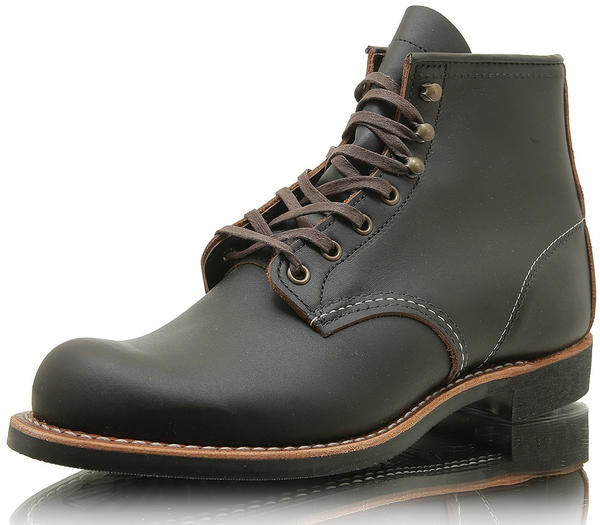 Red Wing Blacksmith black prairie leather