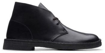 Clarks Desert Boot Polished Black