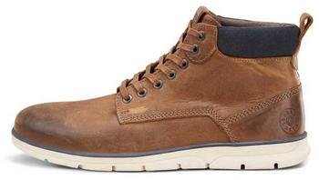 Jack & Jones Leather Boots (12159513) cognac