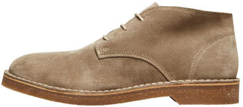 Selected Slhriga Suede Desert Boot (16073601) sand