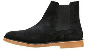 Selected SLHROYCE CHELSEA SUEDE BOOT W (16063426) black