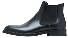 Selected SLHLOUIS LEATHER CHELSEA BOOT B NOOS (16070195) black