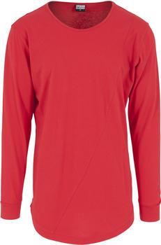 Urban Classics Long Shaped Fashion Longsleeve fire red (TB1101)