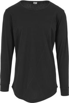 Urban Classics Long Shaped Fashion Longsleeve black (TB1101)