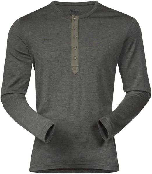 Bergans Henley Wool Shirt seaweed melange
