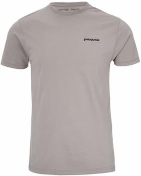 Patagonia P-6 Logo Organic Cotton (39151) feather grey