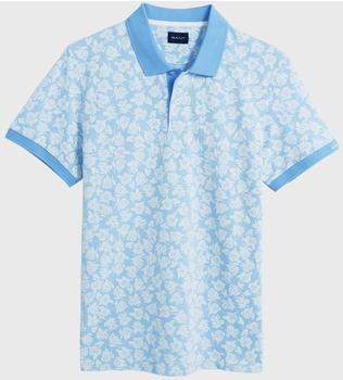 GANT Poloshirt mit floralem Print capri blue (2022067-468)