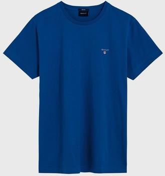 GANT Kurzarm-T-Shirt lake blue (234100-408)