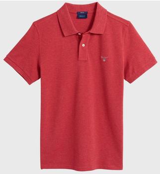 GANT Piqué Poloshirt dk red mel (2201-689)