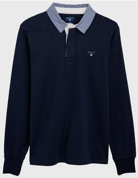 GANT Rugbyshirt evening blue (2005030-433)