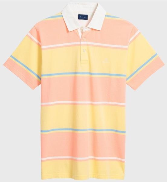 GANT Multi Barstripe Poloshirt lemon (2022062-732)