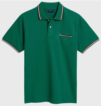 GANT 3-Color Tipping Piqué Poloshirt ivy green (252161-373)