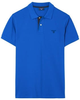 GANT Piqué-Poloshirt mit Kontrastkragen lapis blue (252105-447)