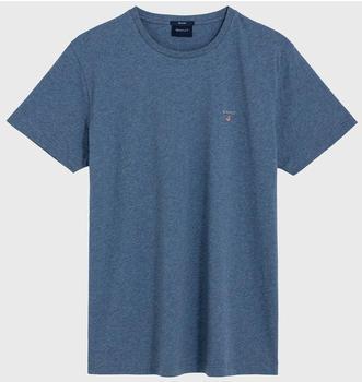 GANT Kurzarm-T-Shirt denim blue mel (234100-906)