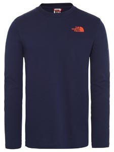 The North Face Men's Easy Long-Sleeve T-Shirt montague blue
