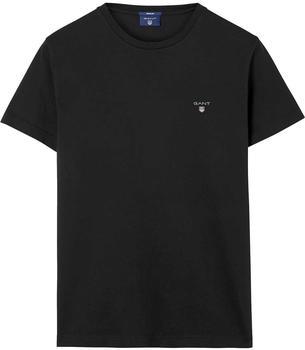 gant-short-sleeved-t-shirt-234100-black