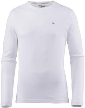 tommy-hilfiger-long-sleeved-ribbed-organic-cotton-t-shirt-dm0dm04409-white