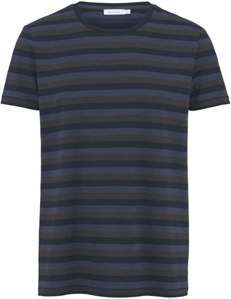 hessnatur Ringel-Shirt aus Bio-Baumwolle mit Schurwolle (48541) blau