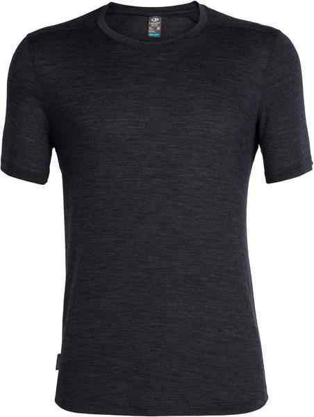 Icebreaker Men's Cool-Lite Sphere Short Sleeve Crewe black heather (104570-030)