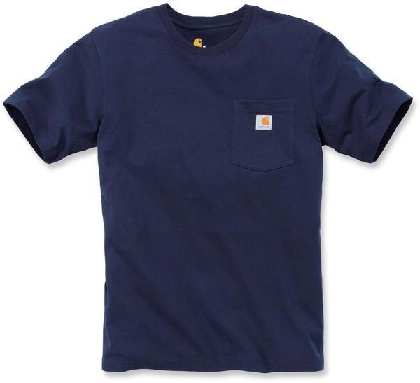 Carhartt Workwear Pocket Short-Sleeve T-Shirt (103296) navy