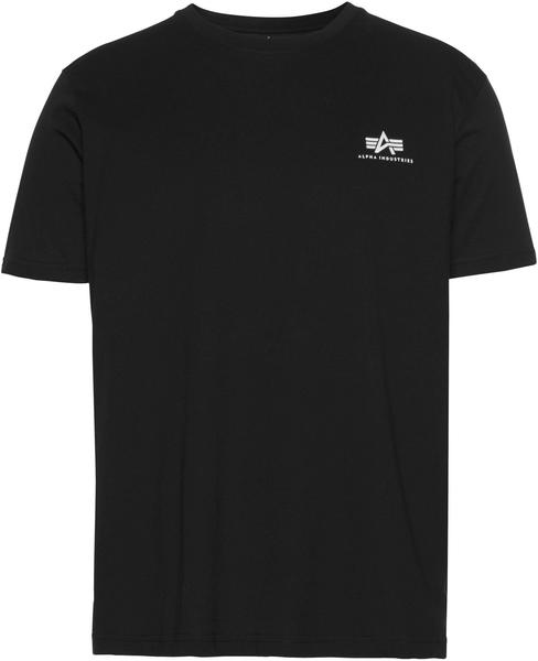Alpha Industries Basic T Small Logo black